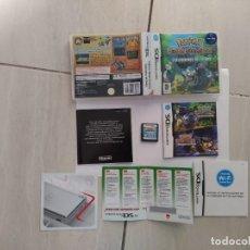 Videogiochi e Consoli: POKEMON EXPLORADORES DEL TIEMPO NINTENDO DS NDS COMPLETO PAL-ESPAÑA. Lote 254294240