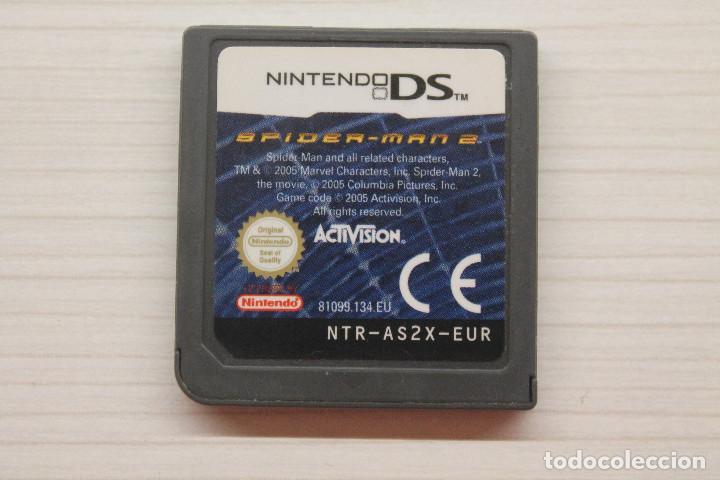 NINTENDO DS, SPIDER-MAN 2, FUNCIONA (Juguetes - Videojuegos y Consolas - Nintendo - DS)