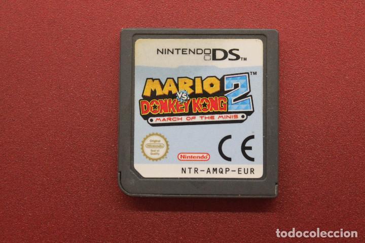 NINTENDO DS, MARIO VS DONKEY KONG 2, FUNCIONA (Juguetes - Videojuegos y Consolas - Nintendo - DS)