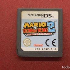 Videojuegos y Consolas: NINTENDO DS, MARIO VS DONKEY KONG 2, FUNCIONA. Lote 254531785
