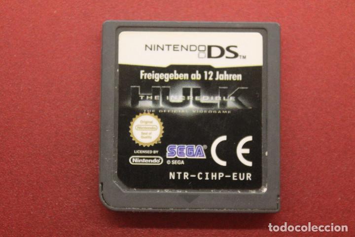 NINTENDO DS, HULK THE INCREDIBLE, FUNCIONA (Juguetes - Videojuegos y Consolas - Nintendo - DS)