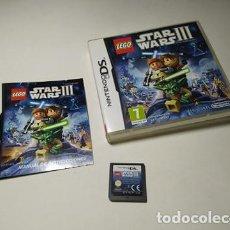 Videojuegos y Consolas: LEGO STAR WARS 3 ( NINTENDO DS - 3DS - PAL - ESPAÑA). Lote 254788485