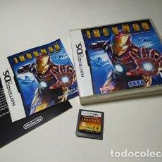 Videojuegos y Consolas: IRON MAN ( NINTENDO DS - 3DS - PAL - ESPAÑA). Lote 254789235
