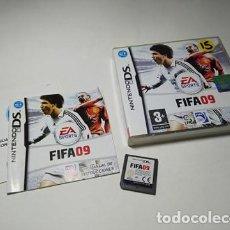 Videojuegos y Consolas: FIFA 09 ( NINTENDO DS - 3DS - PAL - ESPAÑA). Lote 254789325
