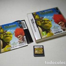Videojuegos y Consolas: SHREK - FELICES PARA SIEMPRE ( NINTENDO DS - 3DS - PAL - ESPAÑA). Lote 254789595