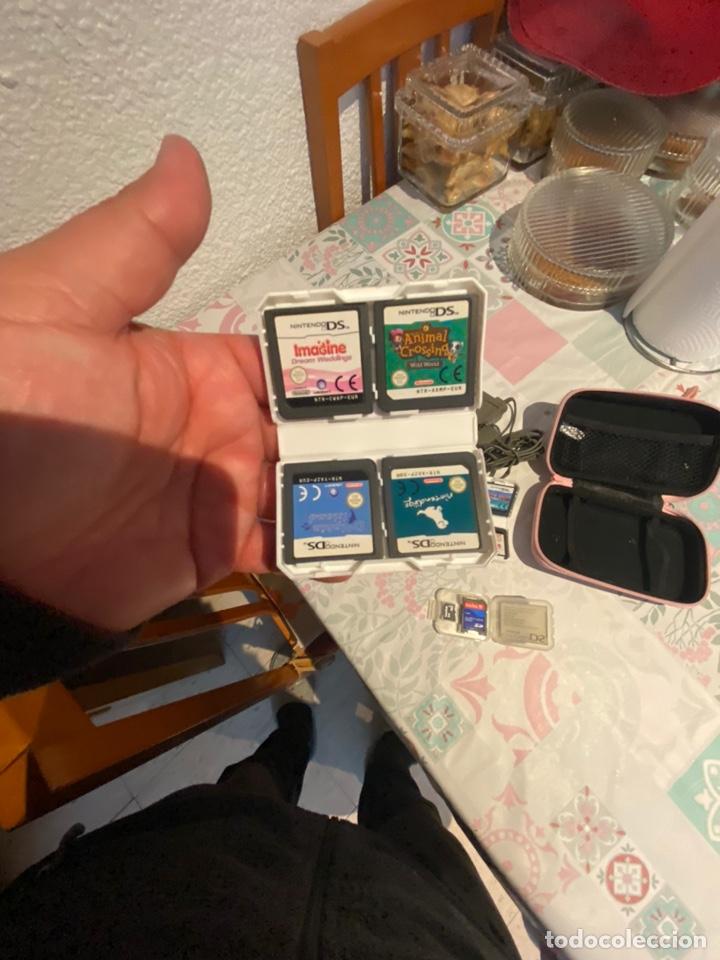 Videojuegos y Consolas: Consola Nintendo DS completa con 8 juegos targetas cargador cartuchera.ver fotos - Foto 7 - 254834275