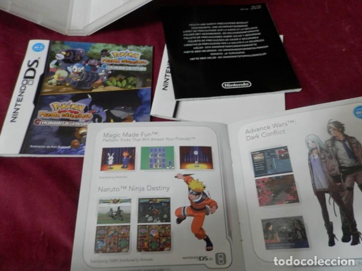 Videojuegos y Consolas: CAJA CON INSTRUCIONES DE JUEGO NINTENDO DS. POKEMON MUNDO MISTERIOSO. EXPLORADORES DE LA OSCURIDAD - Foto 2 - 254891340