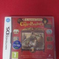 Videojuegos y Consolas: EL PROFESOR LAYTON Y LA CAJA DE PANDORA. Lote 257413340