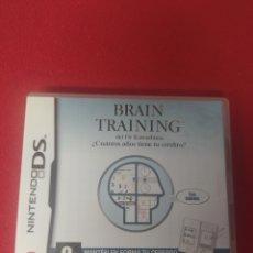 Videojuegos y Consolas: BRAIN TRAINING. Lote 257415660