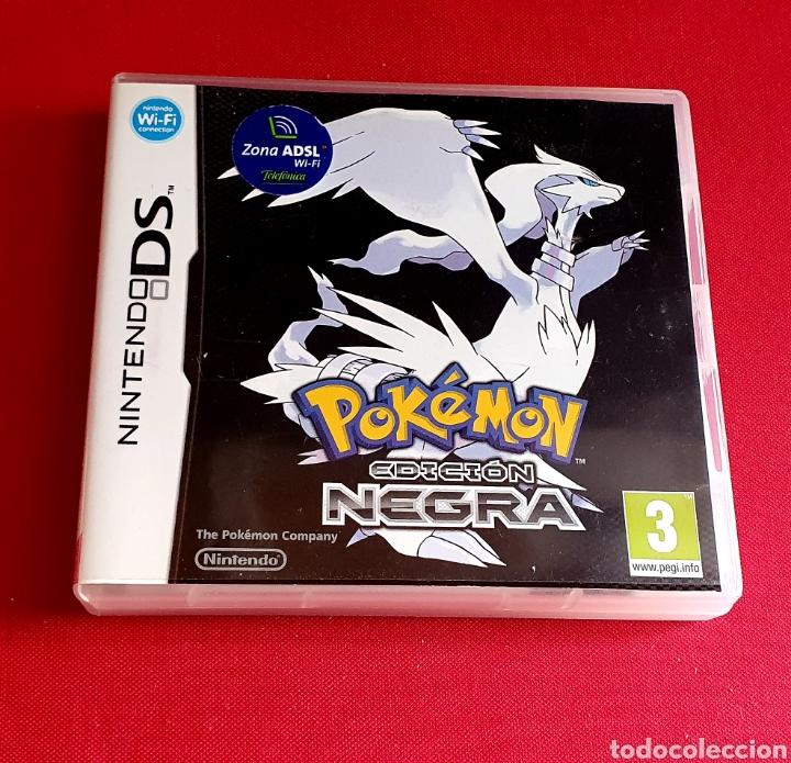 JUEGO POKÉMON EDICIÓN NEGRA NINTENDO DS (Juguetes - Videojuegos y Consolas - Nintendo - DS)
