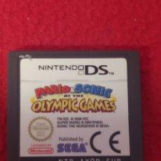 Videojuegos y Consolas: MARIO & SONIC OLYMPIC GAMES. Lote 257585285
