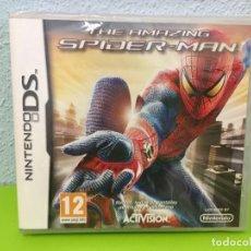 Videojuegos y Consolas: THE AMAZING SPIDER-MAN NINTENDO DS NDS PAL ESPAÑA. PRECINTADO. SPIDERMAN SPIDER MAN HOMBRE ARAÑA. Lote 257683815