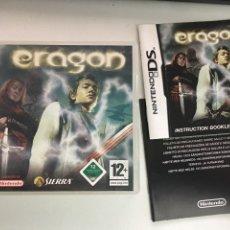Videojuegos y Consolas: NINTENDO DS - ERAGON - SOLO CAJA Y MANUAL. Lote 257830685