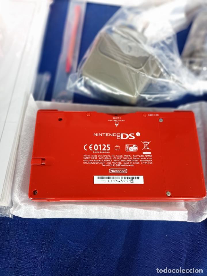 Videojuegos y Consolas: Nintendo DSi Roja Red Nueva A Estrenar - Foto 11 - 257950820