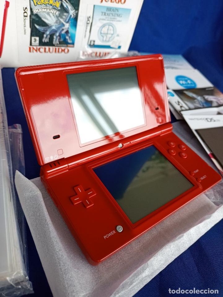Videojuegos y Consolas: Nintendo DSi Roja Red Nueva A Estrenar - Foto 12 - 257950820