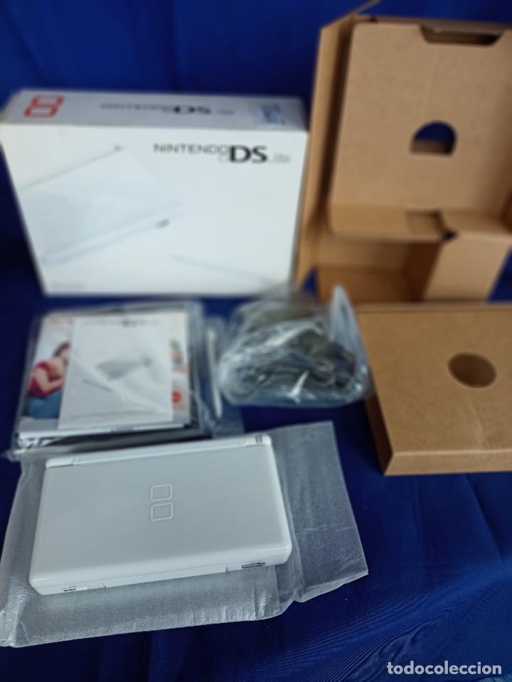 Videojuegos y Consolas: Nintendo DS lite blanca white nueva a estrenar new - Foto 8 - 257951090