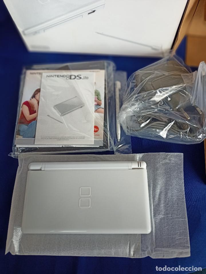 Videojuegos y Consolas: Nintendo DS lite blanca white nueva a estrenar new - Foto 9 - 257951090