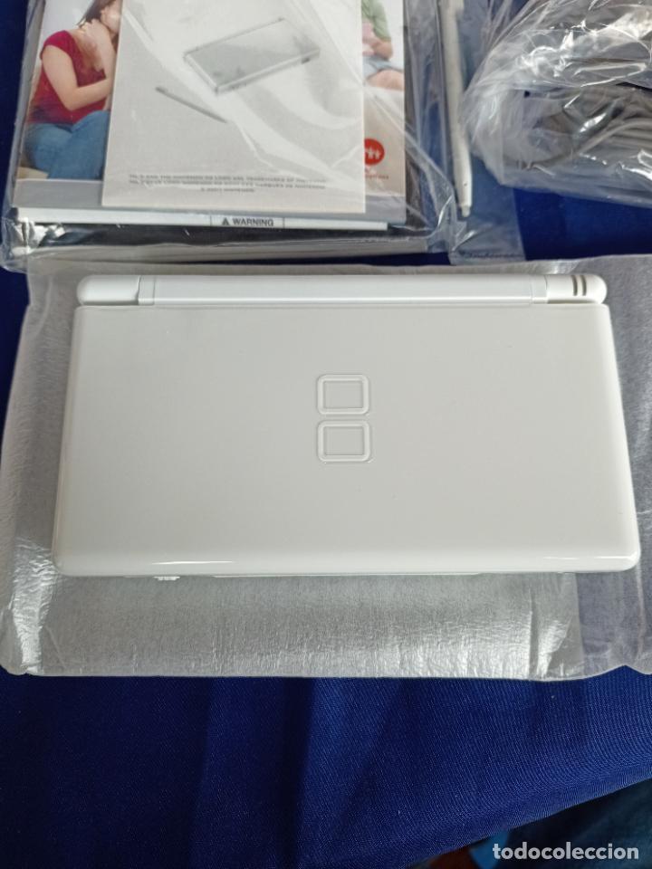 Videojuegos y Consolas: Nintendo DS lite blanca white nueva a estrenar new - Foto 10 - 257951090