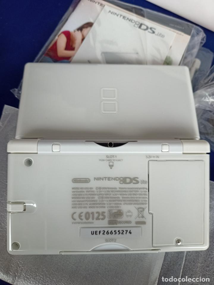 Videojuegos y Consolas: Nintendo DS lite blanca white nueva a estrenar new - Foto 12 - 257951090