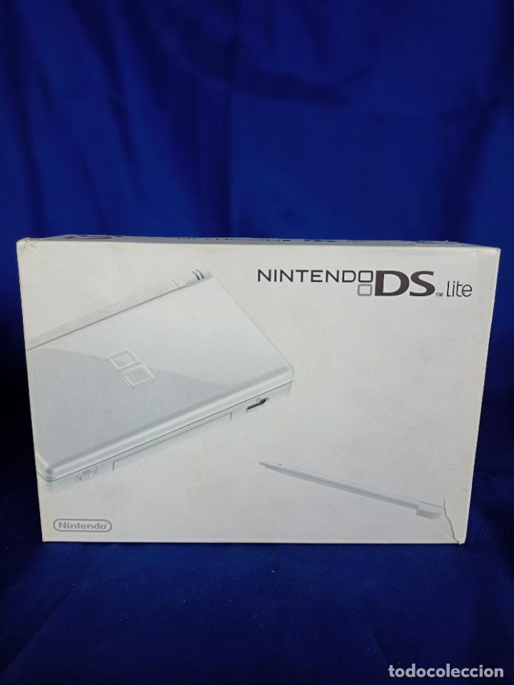 NINTENDO DS LITE BLANCA WHITE NUEVA A ESTRENAR NEW (Juguetes - Videojuegos y Consolas - Nintendo - DS)