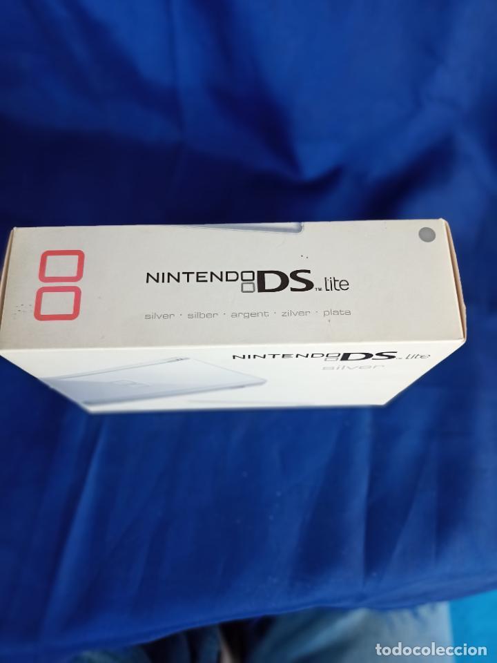 Videojuegos y Consolas: Nintendo DS Lite Silver Plata Nueva A Estrenar new - Foto 2 - 257951350