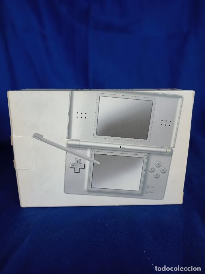 Videojuegos y Consolas: Nintendo DS Lite Silver Plata Nueva A Estrenar new - Foto 7 - 257951350