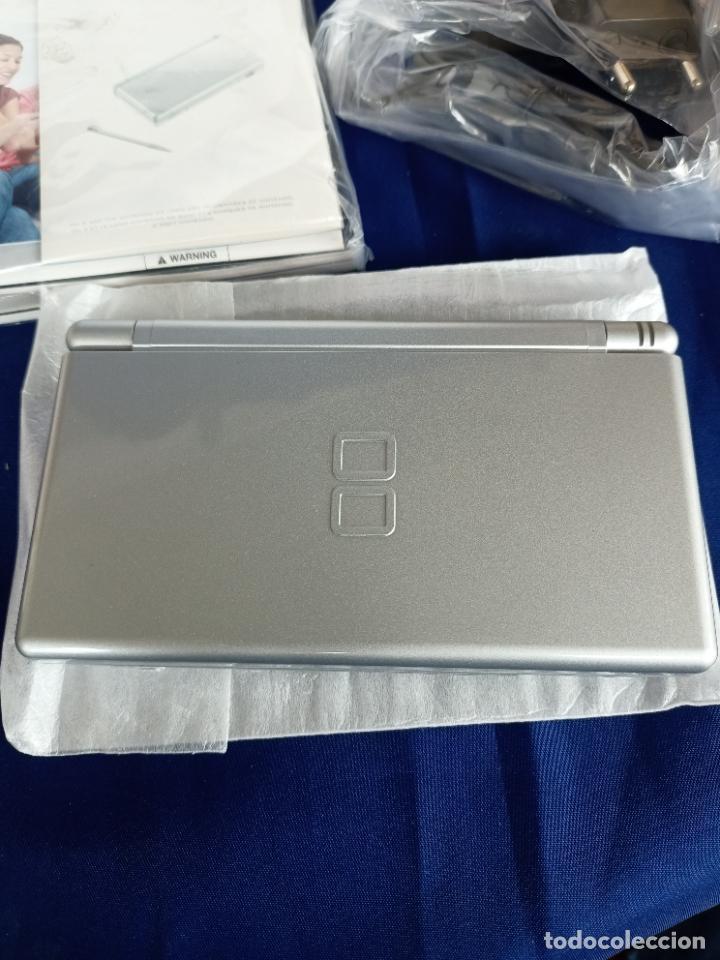 Videojuegos y Consolas: Nintendo DS Lite Silver Plata Nueva A Estrenar new - Foto 11 - 257951350