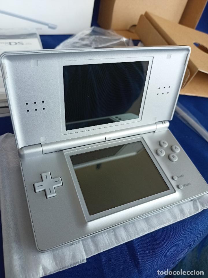 Videojuegos y Consolas: Nintendo DS Lite Silver Plata Nueva A Estrenar new - Foto 13 - 257951350