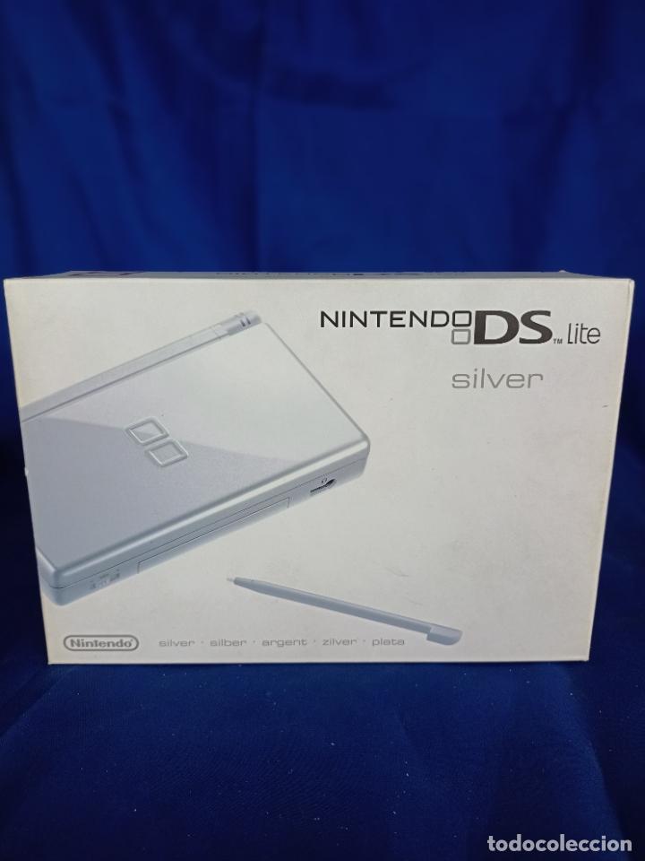 NINTENDO DS LITE SILVER PLATA NUEVA A ESTRENAR NEW (Juguetes - Videojuegos y Consolas - Nintendo - DS)