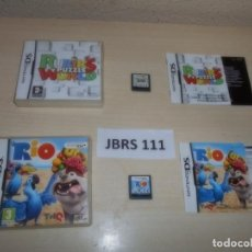 Videojuegos y Consolas: DS - RUBIK PUZZLE WORLD + RIO , PAL ESPAÑOLES. Lote 261832130