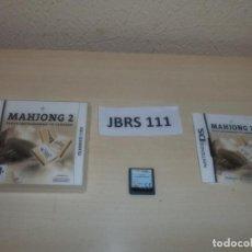 Videojuegos y Consolas: DS - MAHJONG 2 , PAL ESPAÑOL , COMPLETO. Lote 262611515