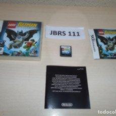 Videojuegos y Consolas: DS - LEGO BATMAN , PAL ESPAÑOL , COMPLETO. Lote 262613645