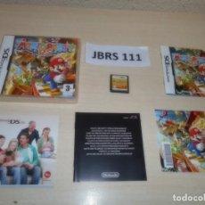 Videojuegos y Consolas: DS - MARIO PARTY DS , PAL ESPAÑOL , COMPLETO. Lote 262614250