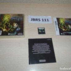 Videojuegos y Consolas: DS - MAZES OF FATE , PAL ESPAÑOL , COMPLETO. Lote 262614325