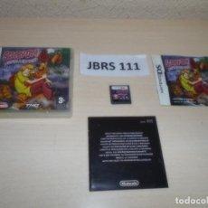 Videojuegos y Consolas: DS - SCOBBY-DOO UNMASHED , PAL ESPAÑOL , COMPLETO. Lote 262614595