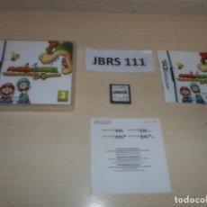 Videojuegos y Consolas: DS - MARIO & LUIGI - VIAJE AL CENTRO DE BOWSER , PAL ESPAÑOL , COMPLETO. Lote 262615095