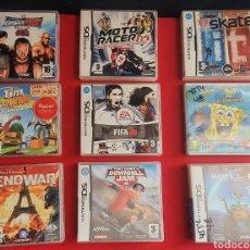 Videojuegos y Consolas: LOTE DE JUEGOS NINTENDO DS .TAL CUAL COMO SE VE EN FOTOS. Lote 262893330