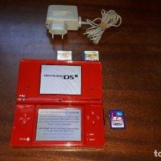 Videojuegos y Consolas: NINTENDO DSI ROJA. Lote 263068570