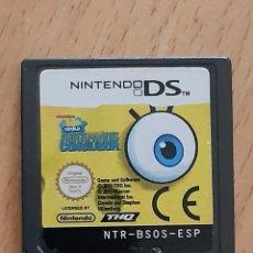 Videojuegos y Consolas: JUEGO NINTENDO DS, BOB ESPONJA ATRAPADOS EN EL CONGELADOR. VER DESCRIPCIÓN. Lote 265448499