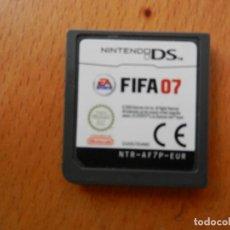 Videojuegos y Consolas: NINTENDO DS - FIFA 07 - CARTUCHO DEL JUEGO - EUROPA.. Lote 266509373