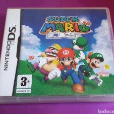 Videojuegos y Consolas: NINTENDO DS SUPER MARIO 64 DS COMPLETO CON MANUAL Y FOLLETOS EN EXCELENTE ESTADO. Lote 267717649