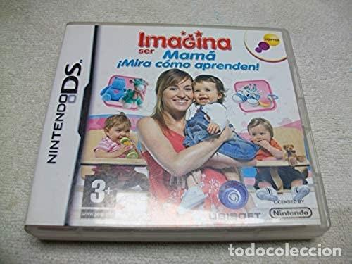 IMAGINA SER MAMA: MIRA COMO APRENDEN NINTENDO DS (Juguetes - Videojuegos y Consolas - Nintendo - DS)