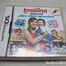 Videojuegos y Consolas: IMAGINA SER MAMA: MIRA COMO APRENDEN NINTENDO DS. Lote 268306329