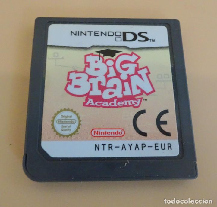 BIG BRAIN ACADEMY , VIDEOJUEGO PAL DE NINTENDO DS , (Juguetes - Videojuegos y Consolas - Nintendo - DS)