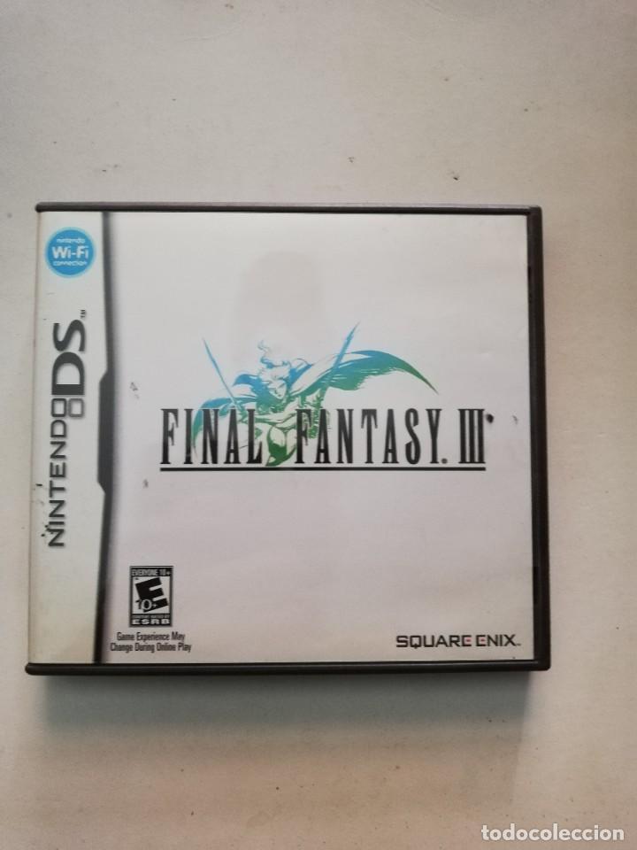 FINAL FANTASY III NINTENDO (Juguetes - Videojuegos y Consolas - Nintendo - DS)