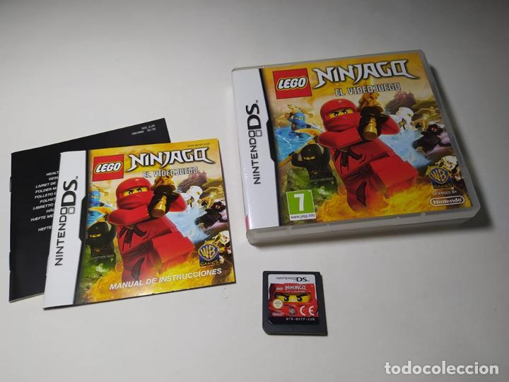 LEGO NINJAGO - EL VIDEOJUEGO ( NINTENDO DS - PAL - ESP) (Juguetes - Videojuegos y Consolas - Nintendo - DS)