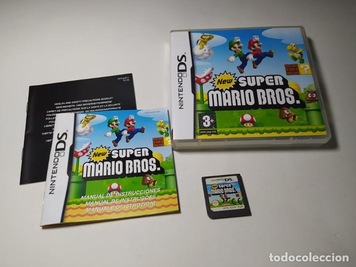 NEW SUPER MARIO BROS. ( NINTENDO DS - PAL - ESP) (Juguetes - Videojuegos y Consolas - Nintendo - DS)