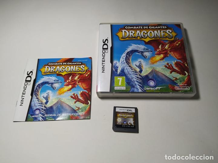 COMBATE DE GIGANTES : DRAGONES ( NINTENDO DS - PAL - ESP) (Juguetes - Videojuegos y Consolas - Nintendo - DS)