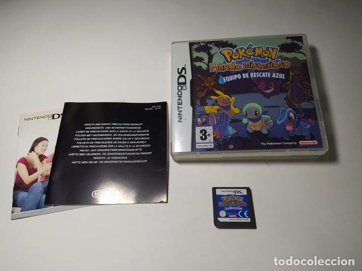 POKEMON EQUIPO DE RESCATE AZUL ( NINTENDO DS - PAL - ESP) (Juguetes - Videojuegos y Consolas - Nintendo - DS)
