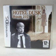 Videogiochi e Consoli: VIDEOJUEGO NINTENDO DS - HOTEL DUSK ROOM 215 + CAJA + INSTRUCCIONES. Lote 269116063